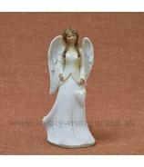 Anjel slovenská deva so srdcom v náručí 24 cm