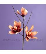 Kvet Magnólia trojhlavá Latexová pena červená 60cm