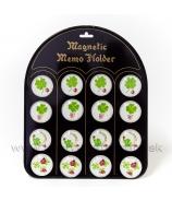 Magnet vypuklé srdce na Valentína sada 20 kusov mix na tabuli 4cm