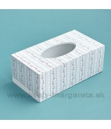 Krabička na servítky Botanicum 24x12.5 cm