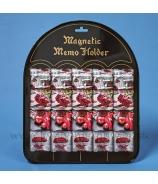 Magnetka ruže a srdcia z lásky tabuľa 16 kusov mix