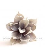 Kvet penová Magnólia krátka 33cm smotanovo-biela