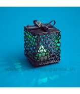 Balíček svietiaci LED multicolor kovový 6cm