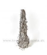 Kúžel strom viničové odrezky Natural s glitrom 50 cm