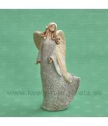 Víla Jasnenka 20cm krémovo-teracotová