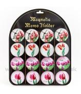 Magnetka SOVA tabuľa 16 kusov 4 typy 5cm