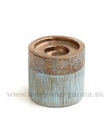 Keramika Cooper DUO - svietnik valec 9cm