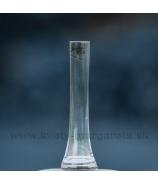 Váza Sandra Rich komín číre sklo 18cm