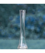 Váza Sandra Rich komín číre sklo 26cm