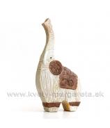 Slon keramický Orient 32 cm - Zľavová AKCIA -50%