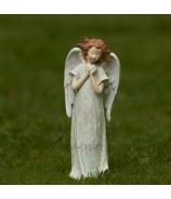 Anjel Medúza zvierajúci srdce tyrkys 23cm