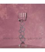 Svietnik Crystal Buble 29cm