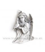 Anjel s holubicou plochý záves 10cm