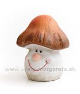Hríbik Smejko Hnedo-biely 17cm